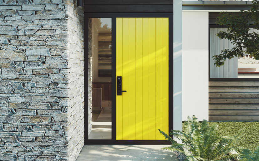 And Like All Our Doors, They Are Made Of Aluminium Providing An Incredibly  Strong, Secure And Weather Resistant Front Door.