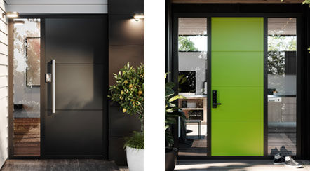 Entrance Doors I Trendy Designs from our Platinum Range I Fairview on